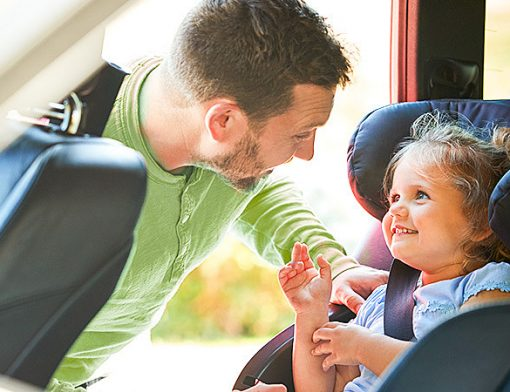 viagem de carro em família